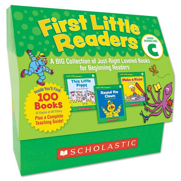 Scholastic First Little Readers Level C, Pre K-2
