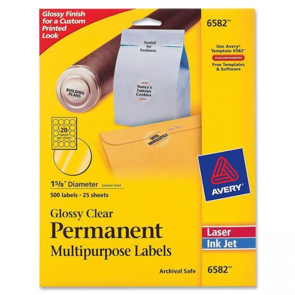 Avery Permanent Multipurpose Labels