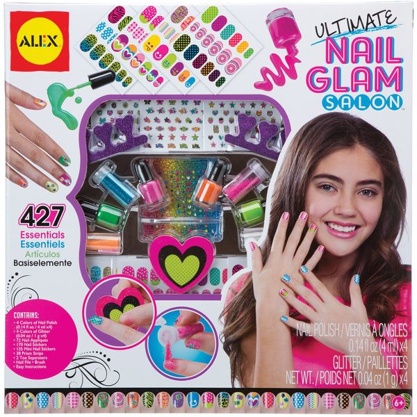 ALEX Toys Spa Ultimate Nail Glam Salon Kit