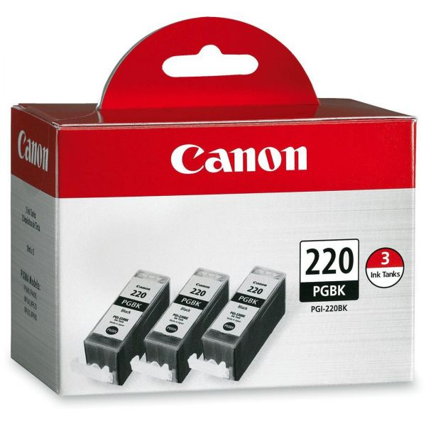 Canon PGI-220BK Black Combo-Pack Ink Cartridges