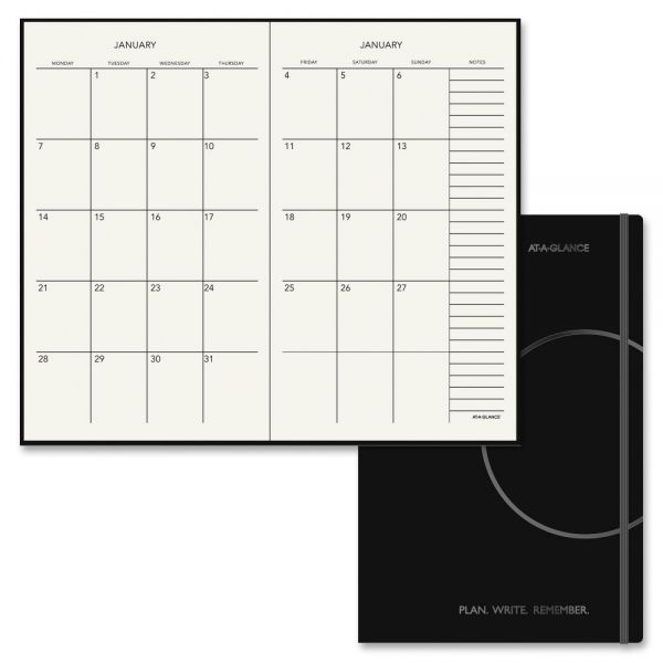 At-A-Glance Perfect Bound Monthly Planner