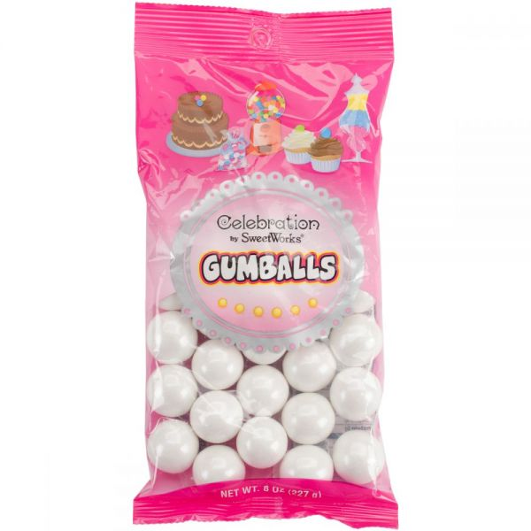 Celebrations By Sweetworks Gumballs 8oz