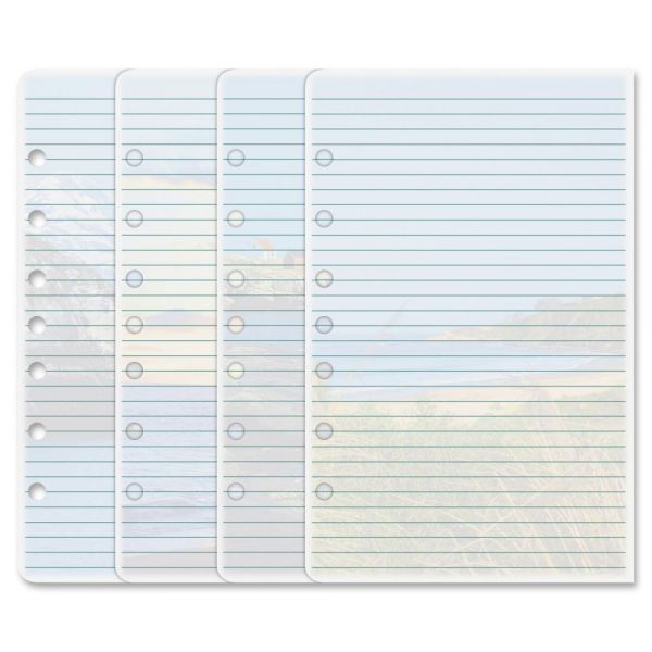 Day-Timer Coastlines Notepads with Four Designs