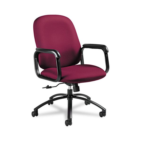 Global Max Series Mid-Back Pneumatic Office Chair