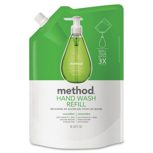 Method Gel Hand Soap Refills