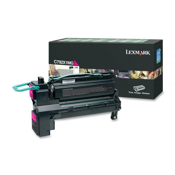 Lexmark C792X1MG Magenta Extra High Yield Return Program Toner Cartridge