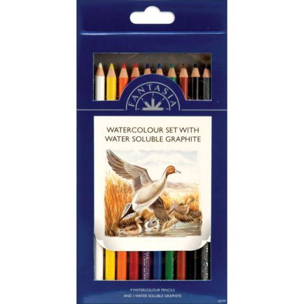 Pro Art Fantasia Colored Pencils 10/Pkg