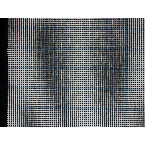 "Graph'N Latch Blue-Lined Canvas 36""X60"" 5 Mesh"