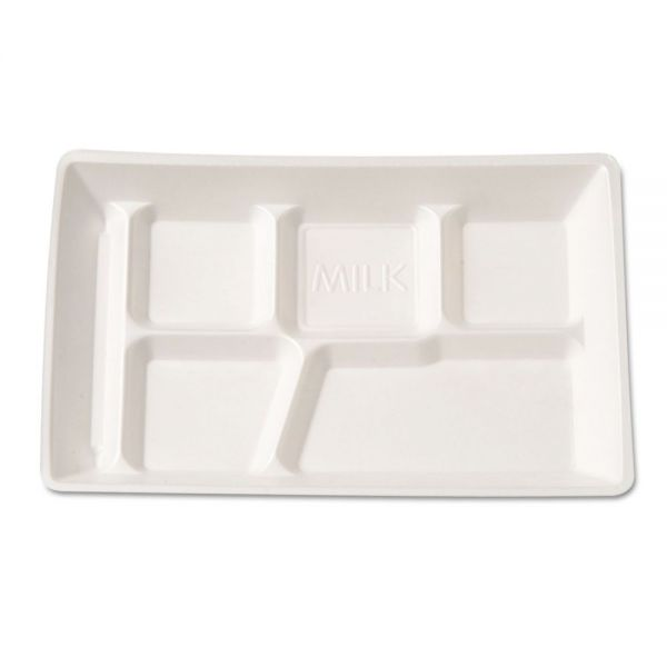 Genpak Foam Compartment Trays