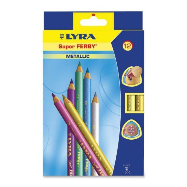 Lyra Super Ferby Metallic Colored Pencils