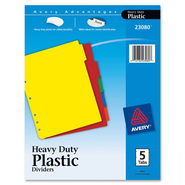 Avery Heavy Duty Tab Dividers