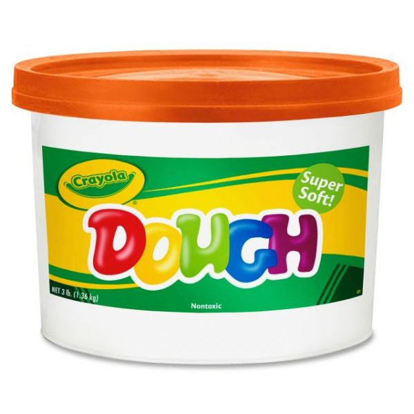 Crayola Orange Dough