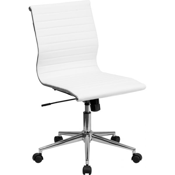Flash Furniture Mid-Back Armless Swivel Conference Chair
