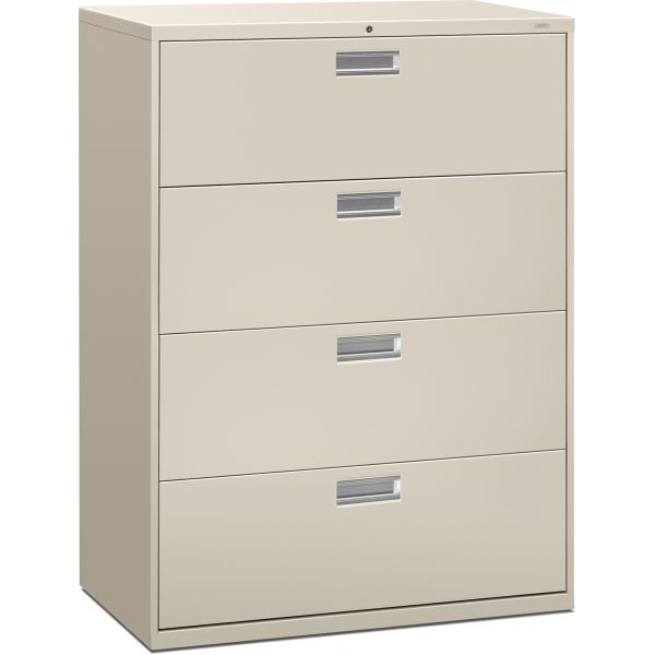 HON Brigade 600 Series 4-Drawer Lateral File Cabinet