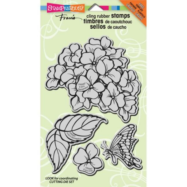 """Stampendous Cling Rubber Stamp 7""""X5"""" Sheet"""