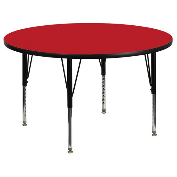 Flash Furniture Height Adjustable Round Activity Table