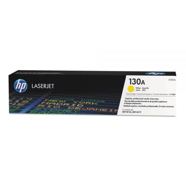 HP 130A Yellow Toner Cartridge (CF352A)