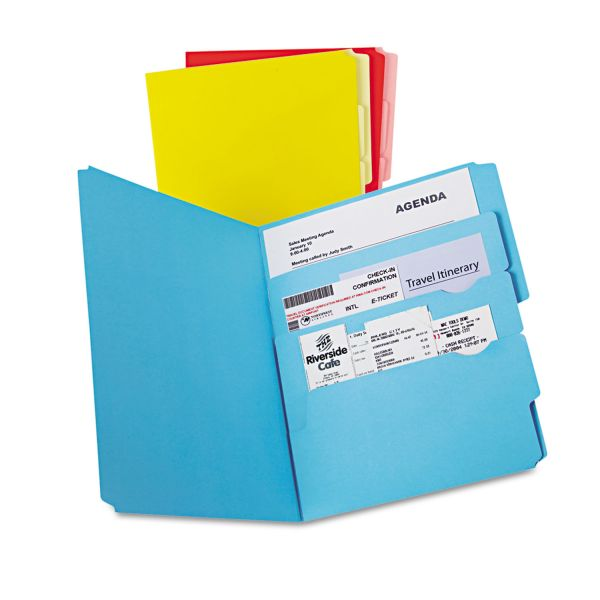 Pendaflex Divide It Up Colored File Folders