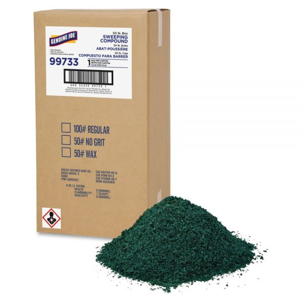 Genuine Joe No Grit Sweeping Compound