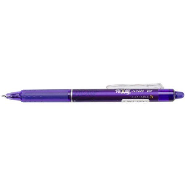 Pilot FriXion Fine Point Clicker Erasable Pen Open Stock