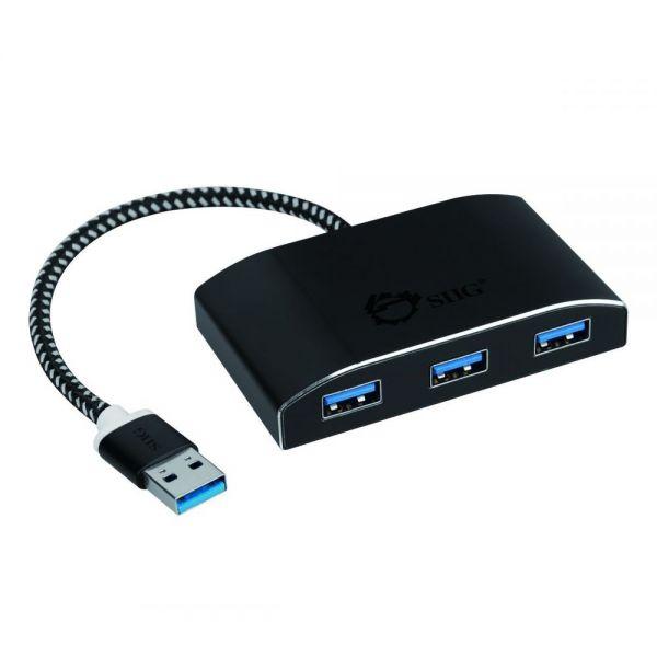 SIIG SuperSpeed USB 3.0 4-Port Powered Hub
