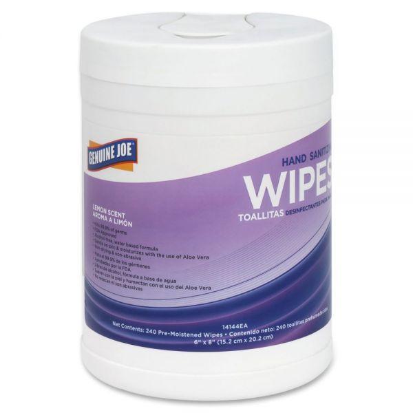 Genuine Joe Hand Sanitizing Wipes