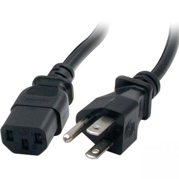 StarTech.com 20 ft Standard Computer Power Cord - NEMA5-15P to C13