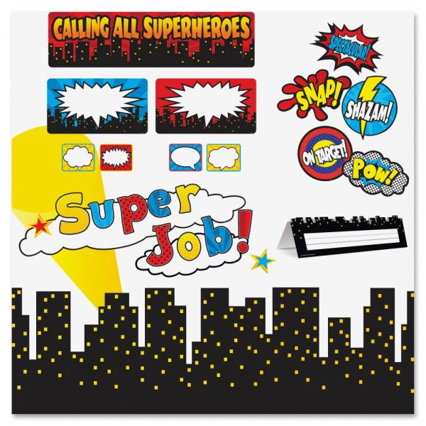 Teacher Created Resources Superhero Decorative Set