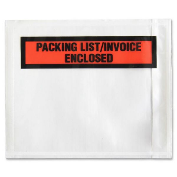 Sparco Pre-Labeled Waterproof Packing Envelopes