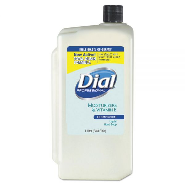 Dial Antimicrobial Liquid Hand Soap with Moisturizers & Vitamin E