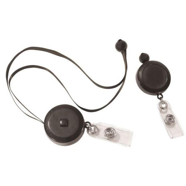 C-Line Retractable Adjustable Neck Lanyard