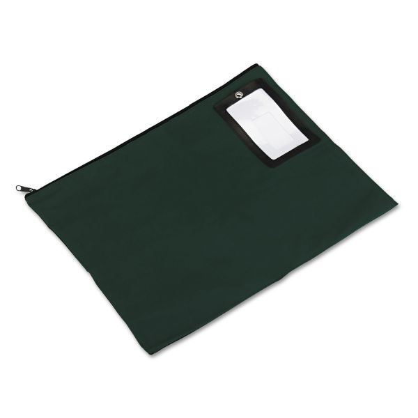 PM Company SecurIT Flat Dark Green Transit Sack, 18w x 14h