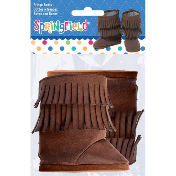 Springfield Collection Fringe Boots