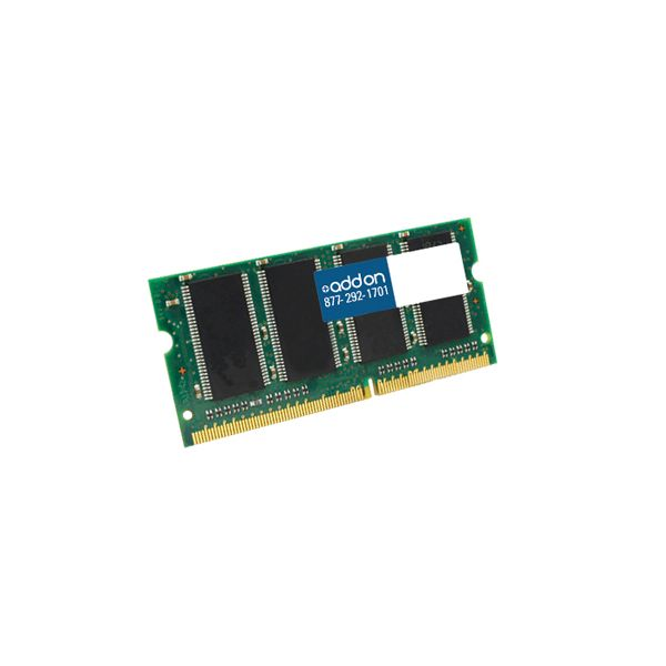 JEDEC Standard 4GB DDR3-1333MHz Unbuffered Dual Rank 1.5V 204-pin CL9 SODIMM