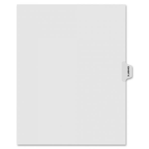 Kleer-Fax 90000 Series Side-Tab Legal Exhibit Index Dividers