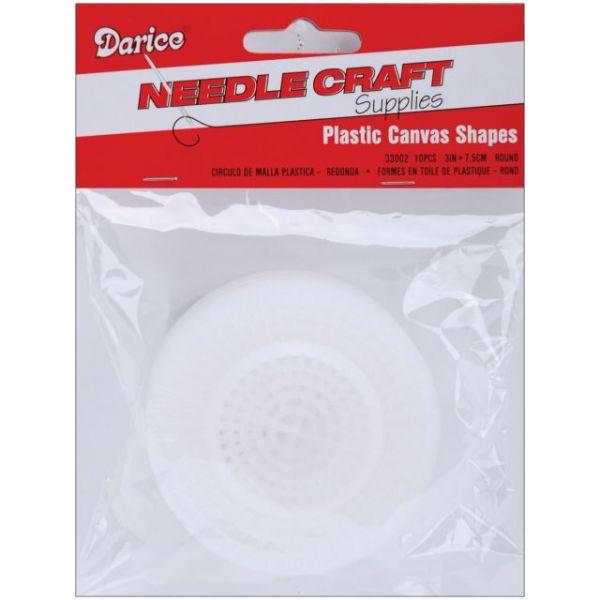 Darice Plastic Cubic Round PVC Canvas