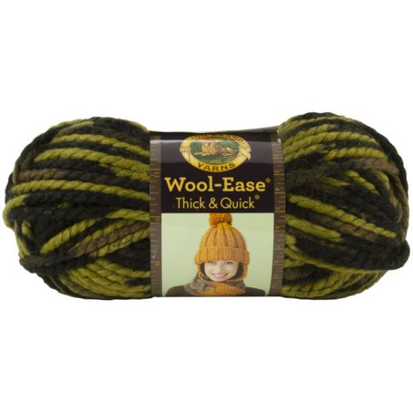 Lion Brand Wool-Ease Thick & Quick Yarn - Jungle