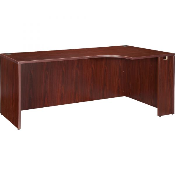 Lorell Essentials Right Corner Desk Shell