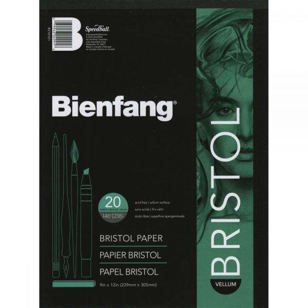 Bienfang Acid Free Bristol Board Paper Pad