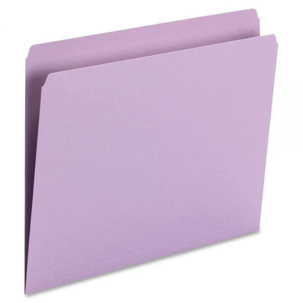 Smead Lavender Colored File Folders