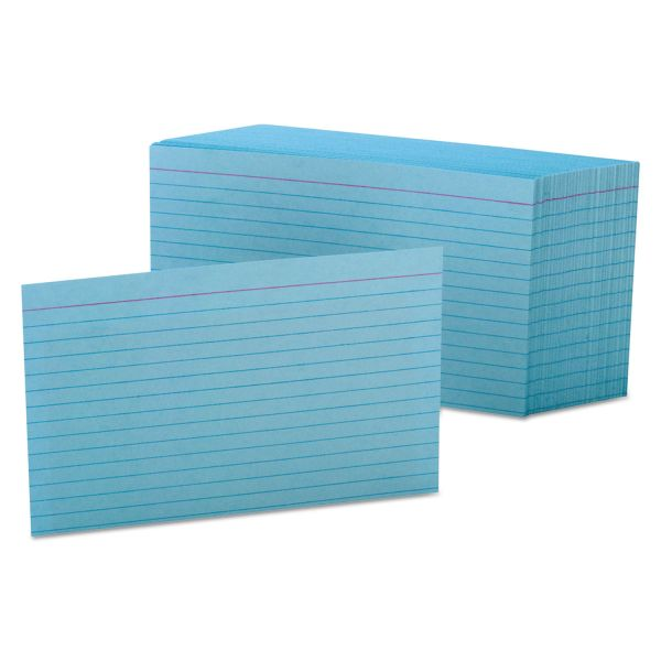"Esselte 4"" x 6' Ruled Index Cards"