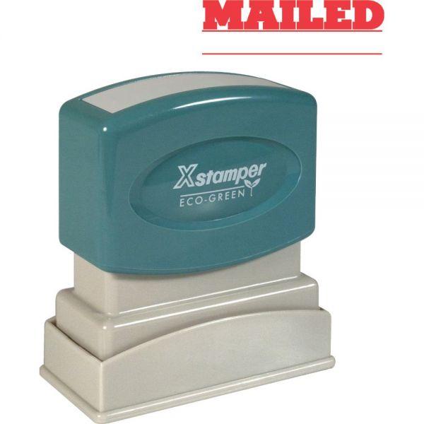 Xstamper MAILED Title Stamp