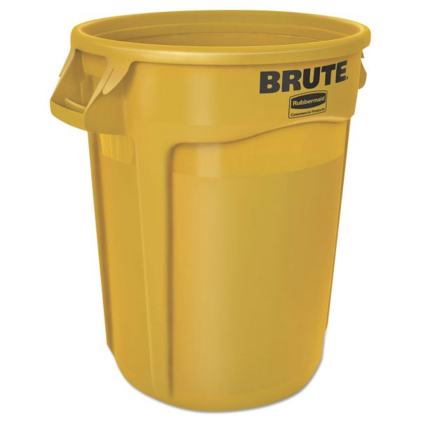 Rubbermaid Round Brute 32 Gallon Trash Can