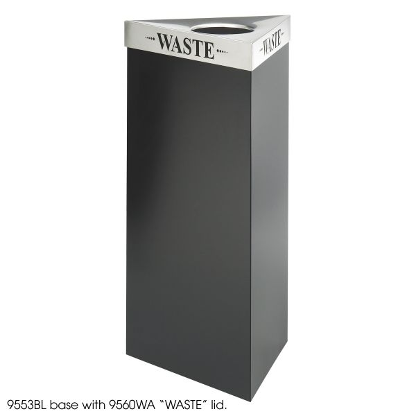 Safco Trifectat Waste Receptacle