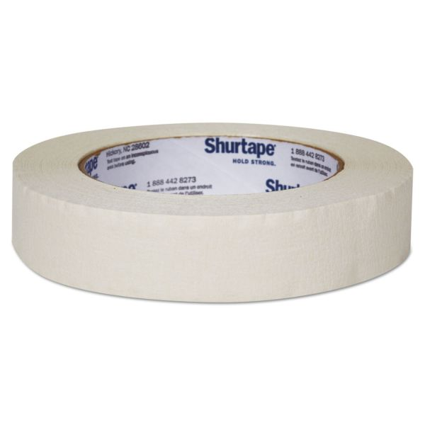"Duck Color Masking Tape, .94"" x 60 yds, White"