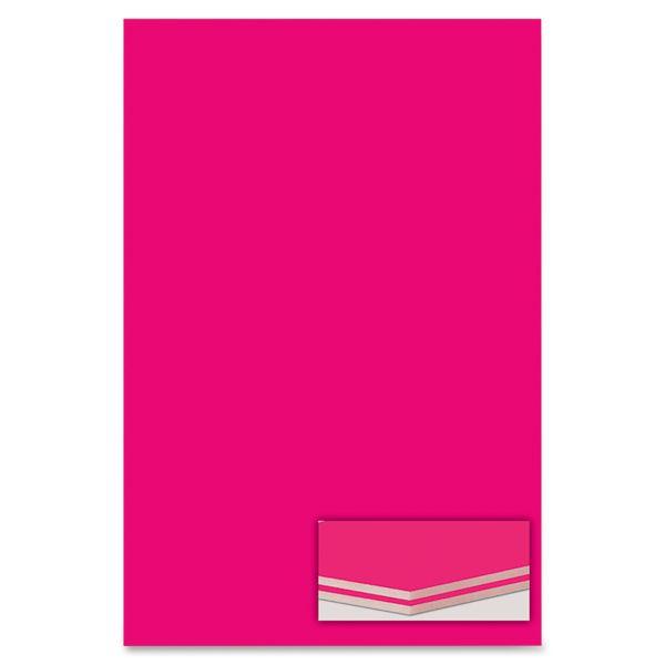 Elmer's Polystyrene Foam Board, 20 x 30, Neon Pink, 10/Pack
