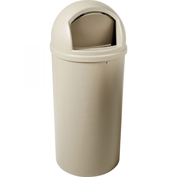 Rubbermaid Commercial Marshal 25 Gallon Trash Can with Lid