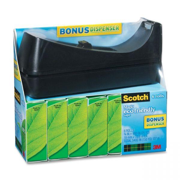 Scotch Magic Greener Tape Refills & Dispenser