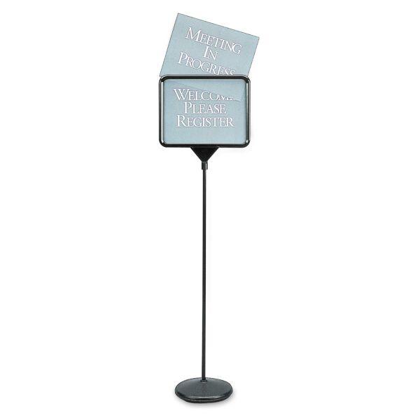Quartet Pedestal Sign