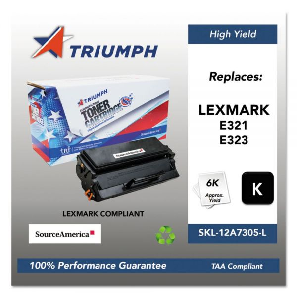 Triumph Remanufactured Lexmark E321/E323 Toner Cartridge